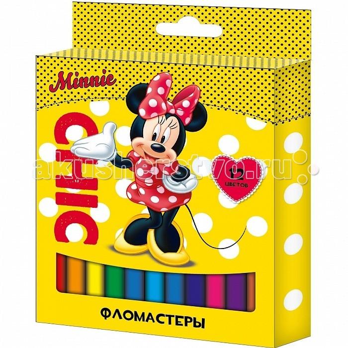 Фломастеры Росмэн Disney Минни 12 цветовDisney Минни 12 цветовРосмэн Фломастеры Disney Минни 12 цветов 28988   Фломастеры ТМ Disney «Минни», идеально подходящие для рисования и раскрашивания, помогут маленькой художнице создать яркие картинки, а упаковка с любимыми героями будет долгое время радовать малышку. В набор входит 12 разноцветных фломастеров с вентилируемыми колпачками, безопасными для детей. Диаметр корпуса: 0,8 см; длина: 13,5 см. Фломастеры изготовлены из материала, обеспечивающего прочность корпуса и препятствующего испарению чернил, благодаря этому они имеют гарантированно долгий срок службы: корпус не ломается, даже если согнуть фломастер пополам. Срок годности: 2 года.<br>