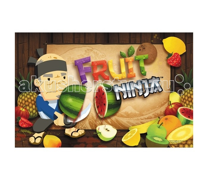 Action Подкладка на стол Fruit Ninja