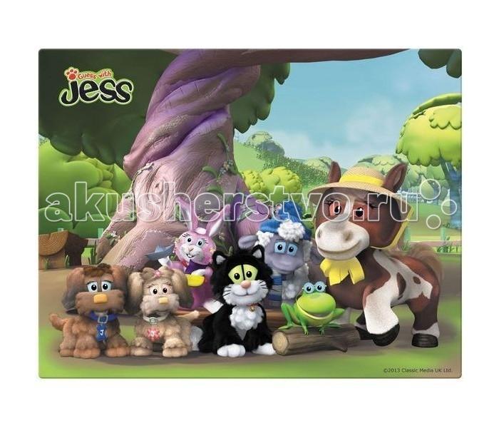 Action Подкладка на стол Guess with JessПодкладка на стол Guess with JessAction Подкладка на стол Guess with Jess с заварным рисунком формата А4+ сохраняет стол от повреждений.<br>