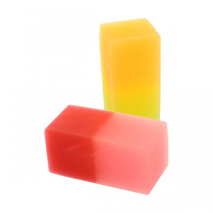 Action Набор двухцветных ластиков 2 шт.