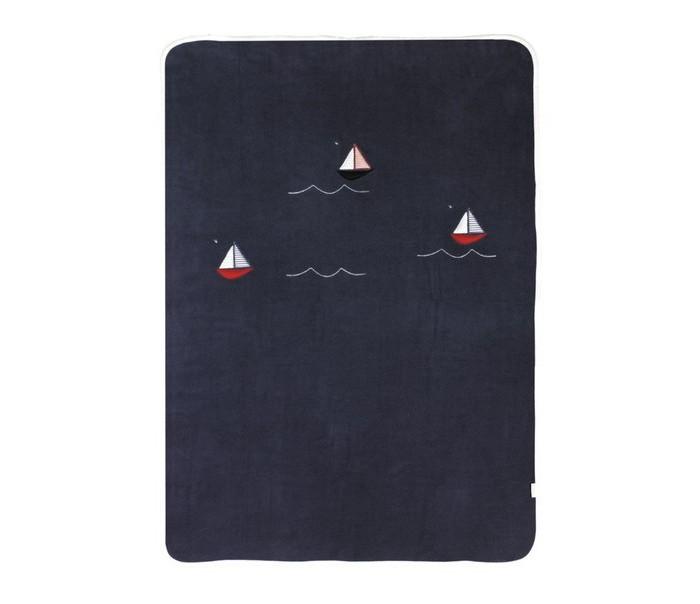 Пледы Kidboo Blue Marine флисовый