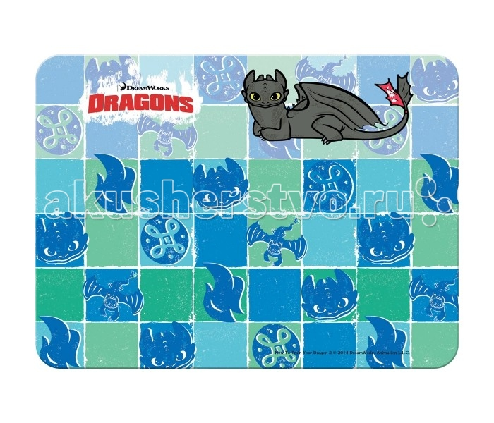 Action Настольное пластиковое покрытие для лепки Dragons А3