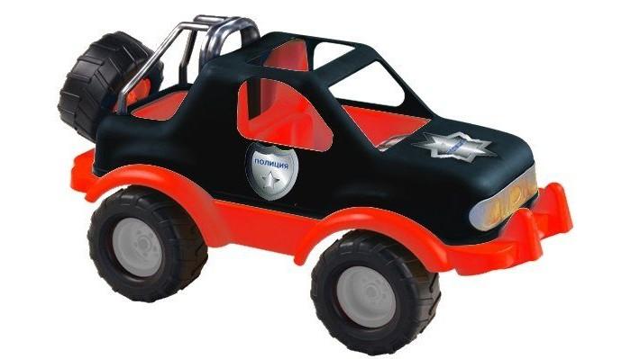 ZebraToys ДжипДжипZebraToys Джип - мечта любого мальчишки! Ведь еuго можно катать, посадив в кабину подходящие по размеру игрушки.   Особенности: Запасное колесо можно крутить. У машины большие колеса диаметром 8 см, мощный бампер красного цвета.  Габаритные размеры: 40 X 22 X 22 см<br>