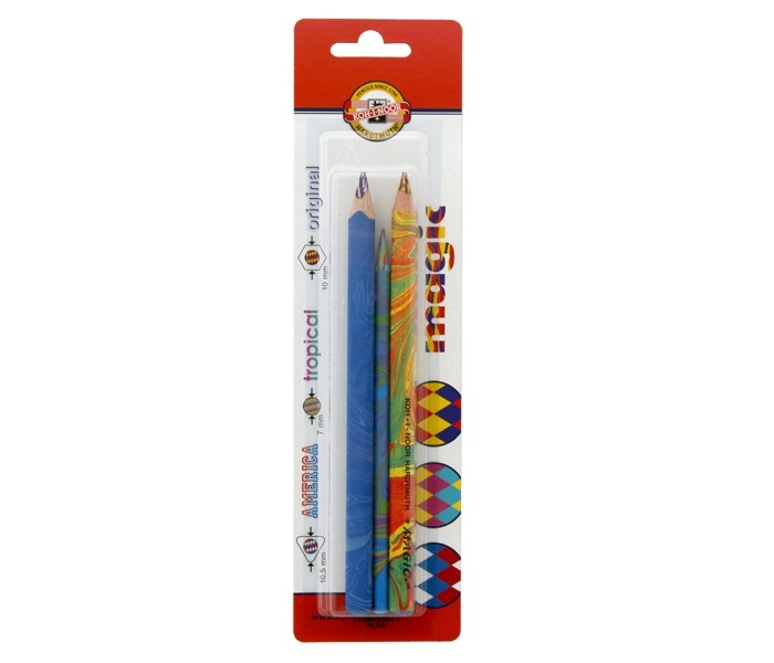 Koh-i-Noor Набор карандашей Magic с многоцветным грифелем 3 шт.