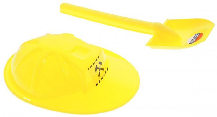 ZebraToys Лопата с каскойЛопата с каскойZebraToys Лопата с каской сделает игры в песке еще более увлекательными и захватывающими.  Особенности: Набор включает в себя 2 предмета: лопатку и каску.  Элементы набора изготовлены из высококачественного и безопасного пластика, имеют яркий желтый цвет. Игры в песке способствуют развитию мелкой моторики ребенка, координации движений, тактильного и цветового восприятия, а также воображения и творческого мышления.  С набором для песочницы Zebratoys играть станет еще веселее, ведь он откроет вашему малышу новые просторы для творчества!<br>