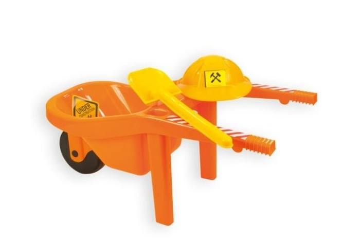 ZebraToys Тачка с каской и лопатой от Акушерство