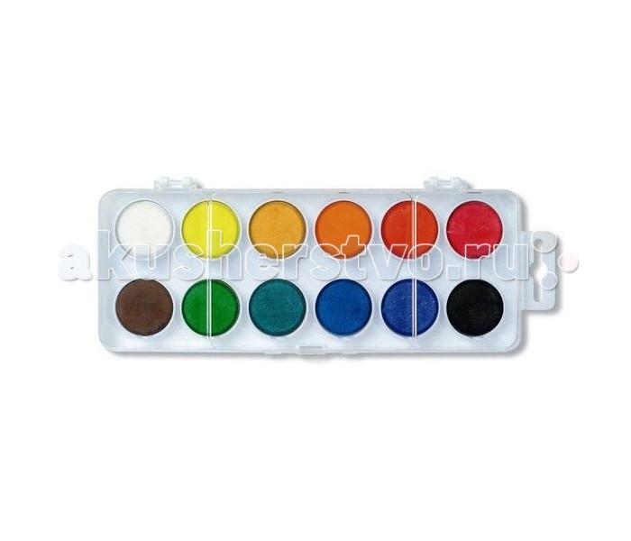 Koh-i-Noor Краски акварельные в пластиковой упаковке 12 цветов