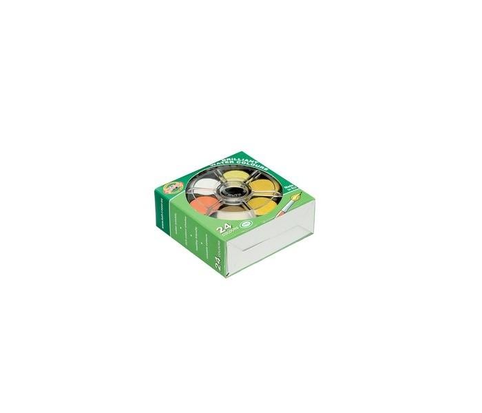 Koh-i-Noor Краски акварельные с бриллиантовым оттенком 24 цвета
