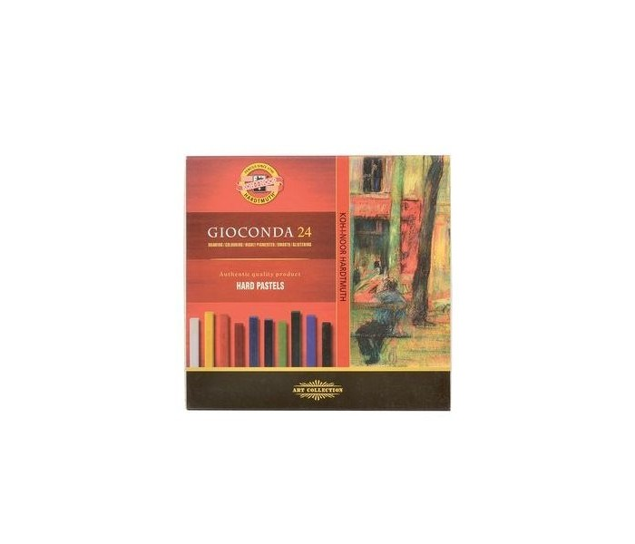 Koh-i-Noor Набор твердой художественной пастели Gioconda 24 цвета