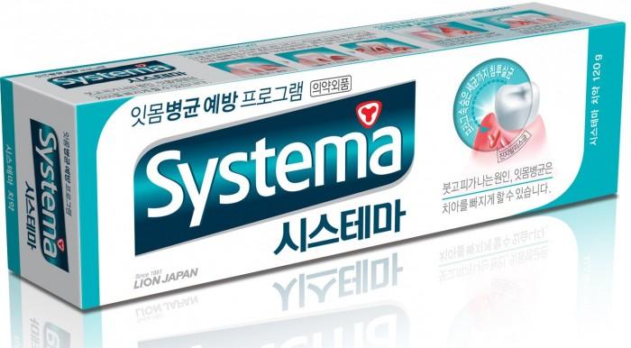CJ Lion Зубная паста Systema с ароматом ледяной мяты 120 г