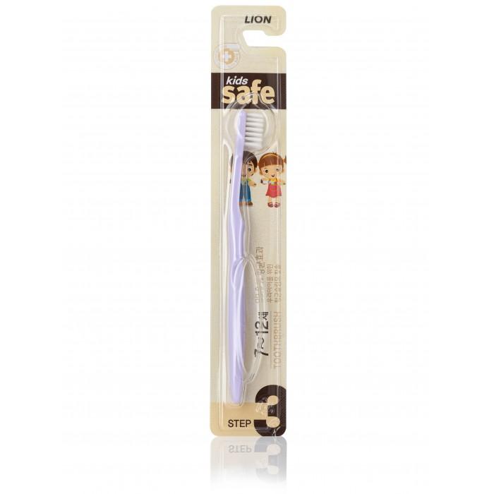 CJ Lion Зубная щетка детская Kids Safe с нано-серебряным покрытием №3