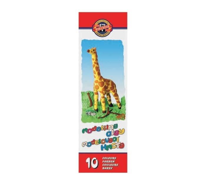 Koh-i-Noor Пластилин детский в картонной упаковке 10 цветов 200 гПластилин детский в картонной упаковке 10 цветов 200 гKoh-i-Noor Пластилин детский в картонной упаковке 10 цветов 200 г  Пластилин не прилипает к рукам, имеет яркие, сочные цвета, которые легко смешиваются друг с другом<br>