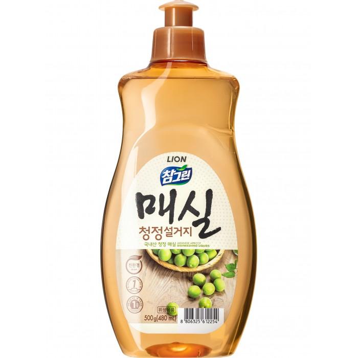 CJ Lion Средство для мытья посуды Chamgreen Японский абрикос флакон 500 мл