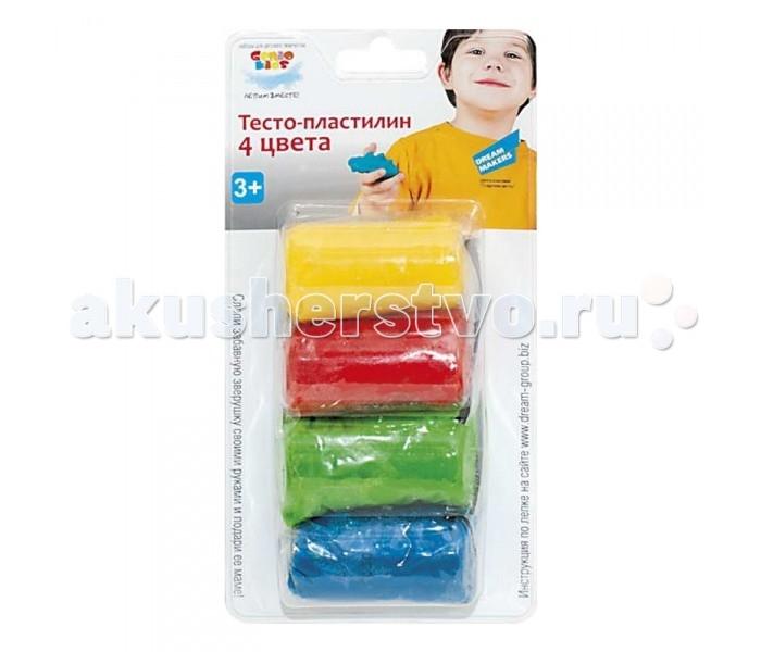 Genio Kids Тесто-Пластилин 4 цвета DM-TA1055B