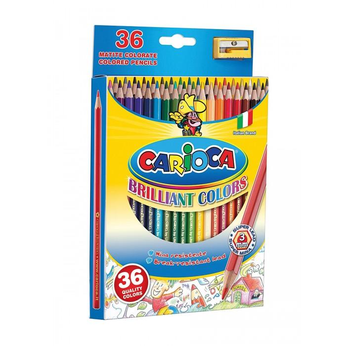 Carioca Набор карандашей 36 цветов + точилка