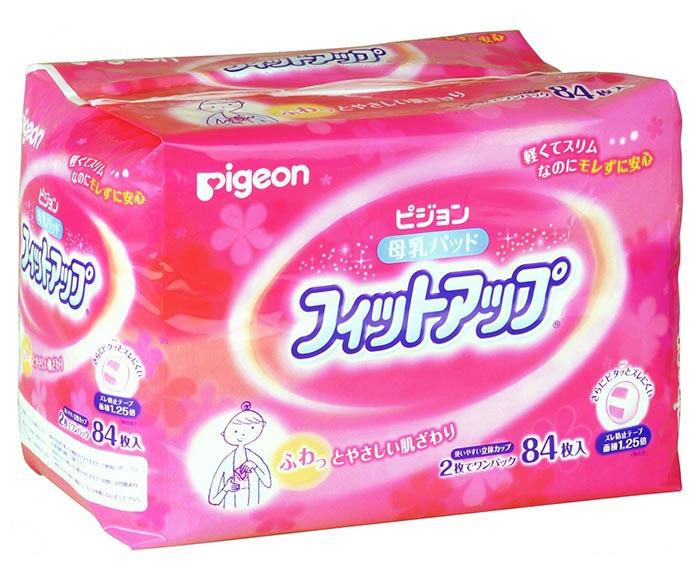 Гигиена для мамы Pigeon Вкладыши для бюстгальтера одноразовые 84 шт.
