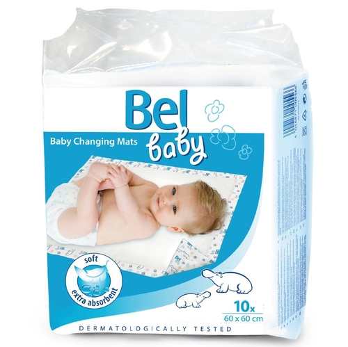 Hartmann Bel Baby Changing Mats Впитывающие пеленки 60х60 см 10 шт.