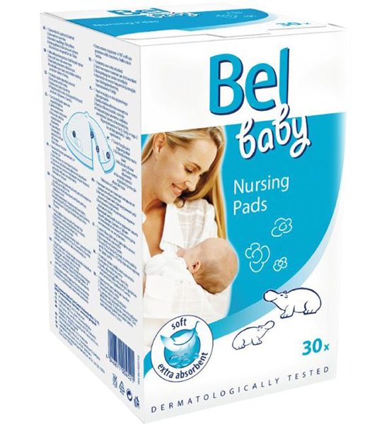 Hartmann Вкладыши для кормящей мамы Bel Baby Nursing Pads 30 шт.