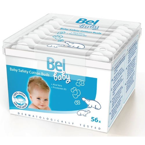 Hartmann Bel Baby safety buds Безопасные ватные палочки 56 шт.