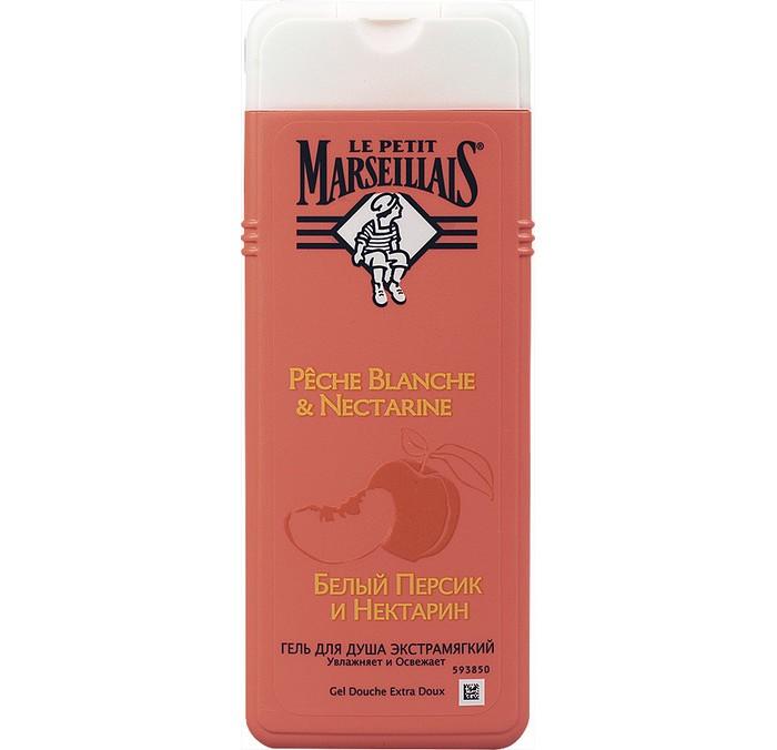 Le Petit Marseillais Гель для душа Белый персик и Нектарин 650 мл