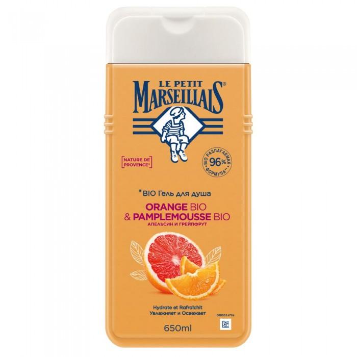 Le Petit Marseillais Гель-пена для душа Грейпфрут и апельсин 650 мл