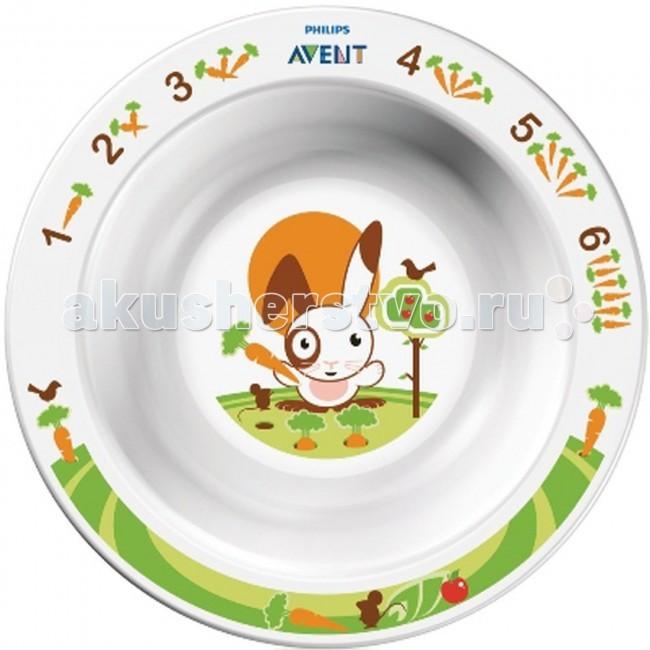 Посуда Philips-Avent Тарелка глубокая 230 мл