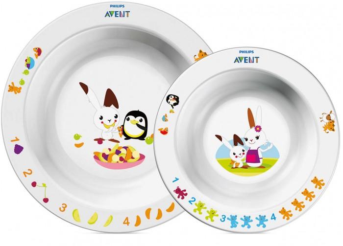 Посуда Philips-Avent Набор глубоких тарелок