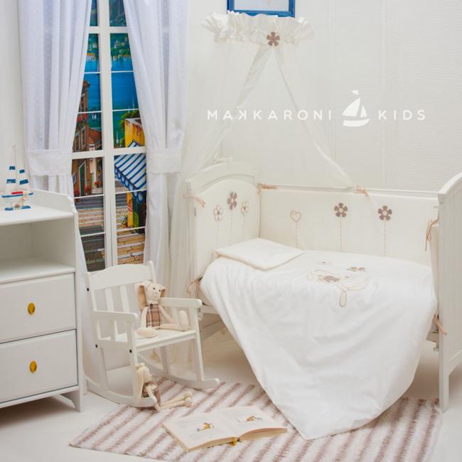 Постельное белье Makkaroni Kids Bunny универсальное (3 предмета)