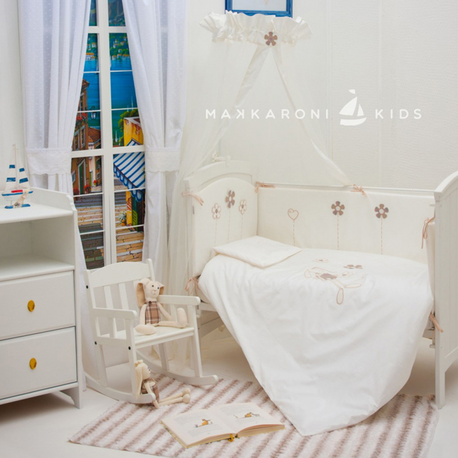 Бамперы для кроваток Makkaroni Kids Bunny 120х60