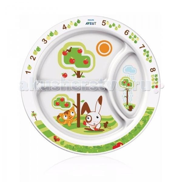 Philips-Avent Тарелка детская порционная