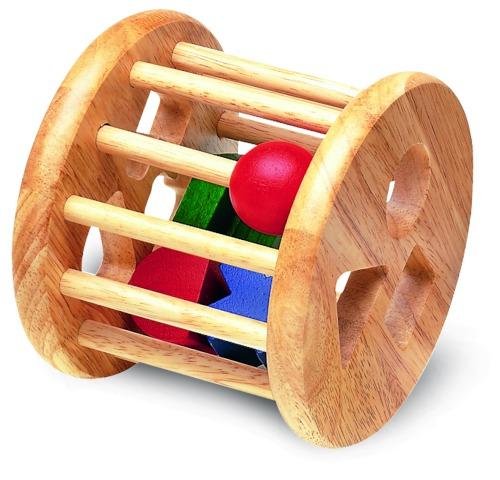 Деревянные игрушки Wonderworld Сортер-погремушка