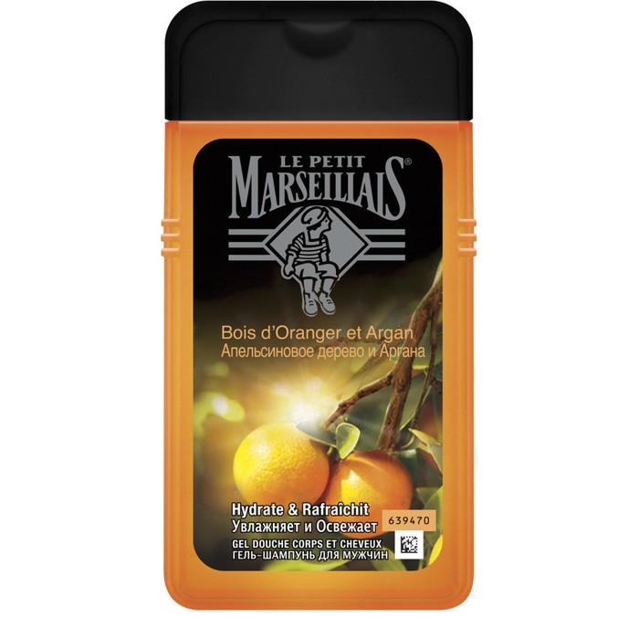 Le Petit Marseillais Гель-шампунь Апельсиновое дерево и Аргана для мужчин 250 мл
