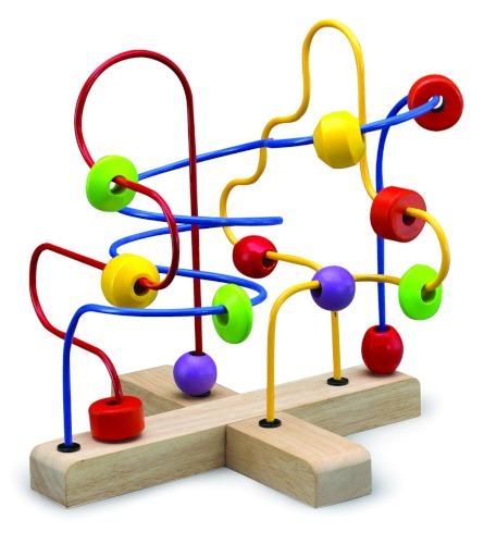 Деревянные игрушки Wonderworld Лабиринт с бусинами