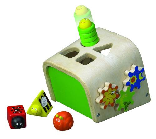 Деревянные игрушки Wonderworld Сортер с насекомыми
