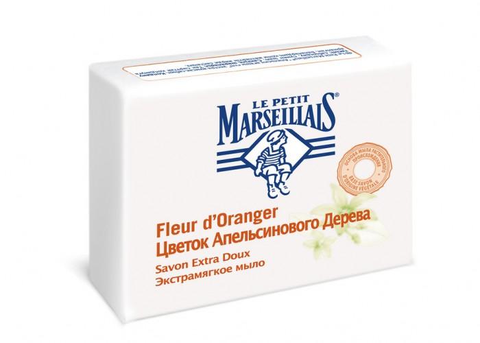Le Petit Marseillais Мыло экстрамягкое Цветок апельсинового дерева 90 г