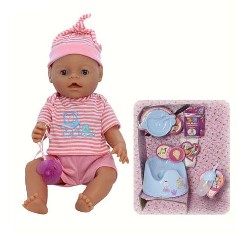 Куклы 1 Toy Малыш с музыкальным горшком