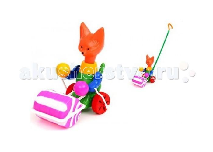 Каталка-игрушка Wieslaw Suchanek Лисенок с катком
