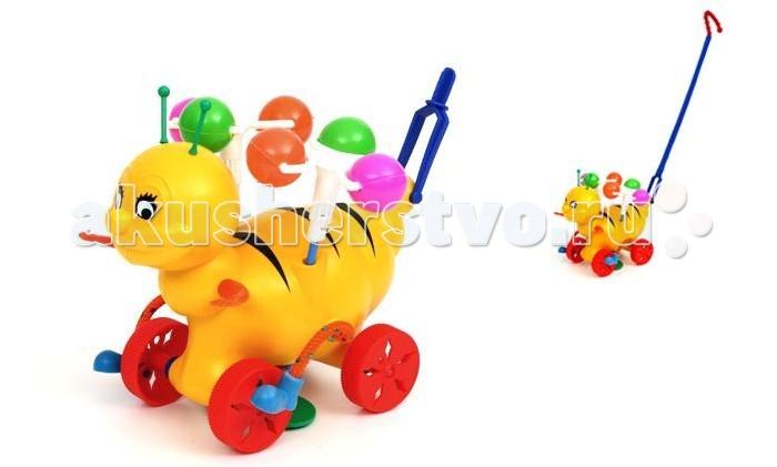 Каталка-игрушка Wieslaw Suchanek ПчелкаПчелкаКаталка Пчелка  Игрушка-каталка с ручкой для детей 1-3 лет. Развивает наглядно-действенное мышление, координацию движений, стимулирует двигательную активность.   Для малышей, начинающих ходить, каталка - незаменимый помощник в этом нелегком деле. Приведенная в движение каталка-бабочка машет крыльями.  Предназначение: для игровых целей на открытом воздухе и в помещении. Изготовлено из высококачественной пластмассы.<br>