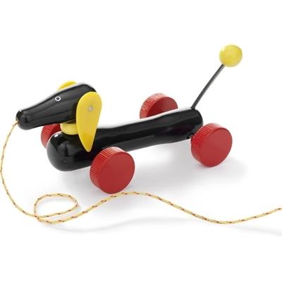 Каталка-игрушка Brio Такса на веревочке