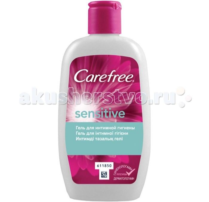 Carefree Гель для интимной гигиены 200 млГель для интимной гигиены 200 млГель для интимной гигиены с мягкой, не содержащей мыла формулой, обеспечивает ежедневную свежесть и деликатный уход за кожей интимной зоны.   Он специально разработан для ухода за чувствительной интимной зоной, поддерживая естественный уровень pH.<br>