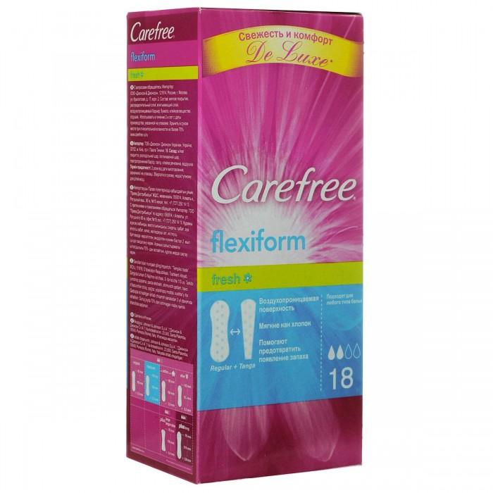 Carefree Салфетки FlexiForm Fresh ароматизированные 18 шт.