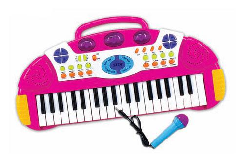 Музыкальная игрушка Тилибом Пианино с микрофоном Т80469