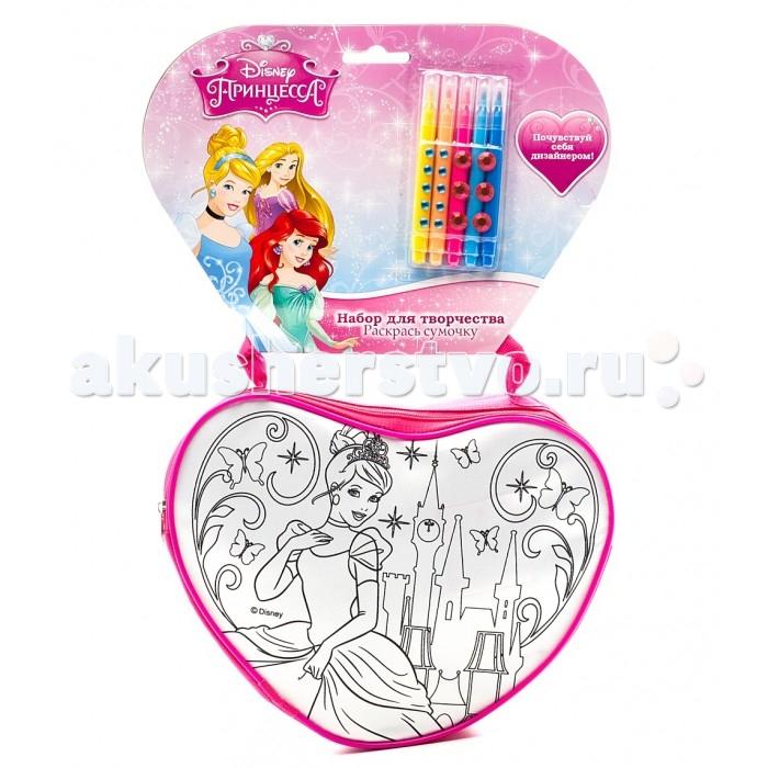 Multiart Набор для росписи сумочки Принцессы Disney