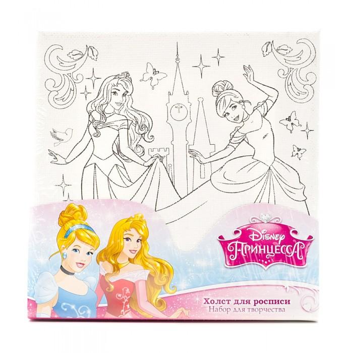 Раскраска Multiart Набор для росписи по холсту Принцессы DisneyНабор для росписи по холсту Принцессы DisneyMultiart Набор для росписи по холсту Принцессы Disney включает в себя краски, кисточку, а также сам рисунок для работы.   На холсте изображен контур с принцессами Диснея, а точнее - с Золушкой и Авророй.   Набор позволит ребенку создать красивую картинку, которую в дальнейшем можно использовать в качестве декора для интерьера детской.<br>