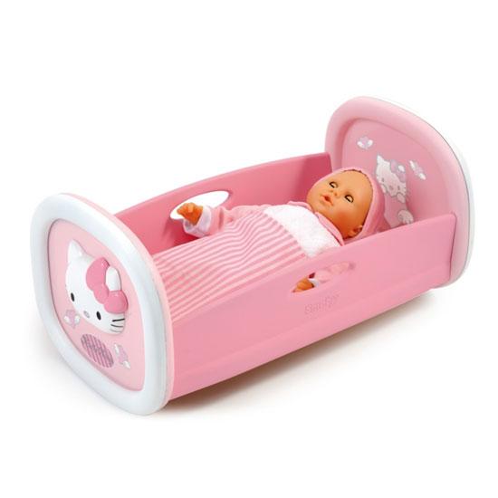 Игрушечные кроватки Smoby Hello Kitty