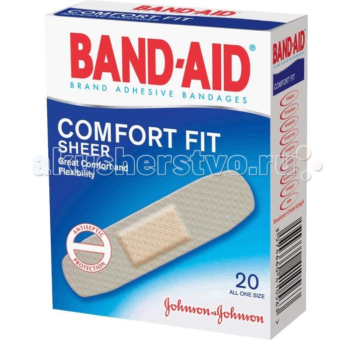 Johnson's Baby Band-Aid Пластырь Антисептический Абсолютный Комфорт 20 шт.Band-Aid Пластырь Антисептический Абсолютный Комфорт 20 шт.Пластырь Антисептический Абсолютный Комфорт предназначен для защиты и заживления ранок, мелких порезов, ссадин и мозолей.  Антисептическая подушечка убивает вредные бактерии и предотвращает попадание инфекции в ранку, а гипоаллергенный клей не вызывает раздражение кожи.  Пластырь практически не заметен на коже, хорошо на ней держится, и не препятствует ее дыханию, впитывая излишнюю влагу.<br>
