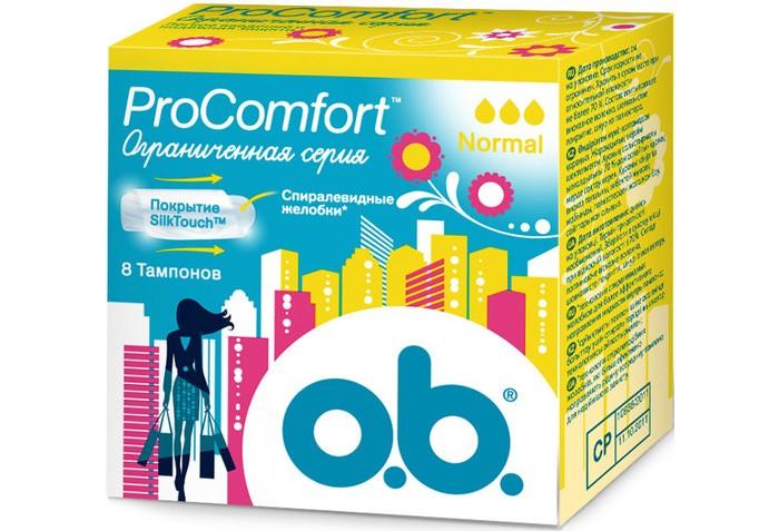 o.b. Тампоны ProComfort нормал 8 шт.