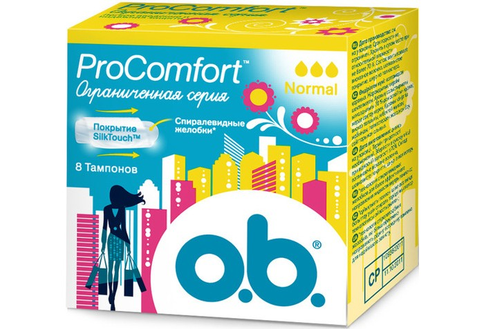 o.b. ������� ProComfort ������ 8 ��.