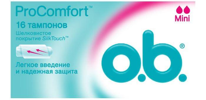 o.b. Тампоны ProComfort Mini 16 шт.