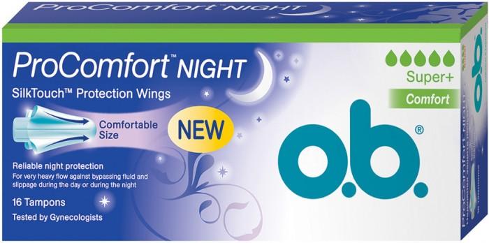 o.b. ������� ProComfort Night Super Plus Comfort 16 ��.